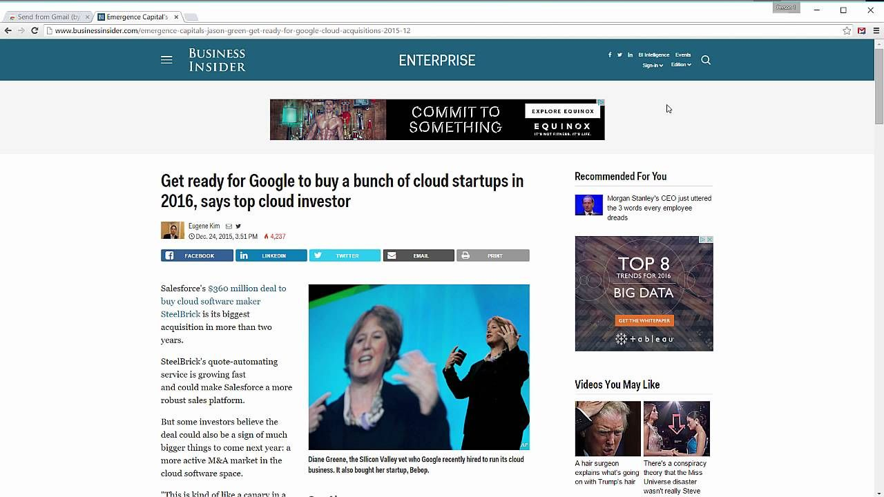 How to Share That Awesome Webpage With One Click Google