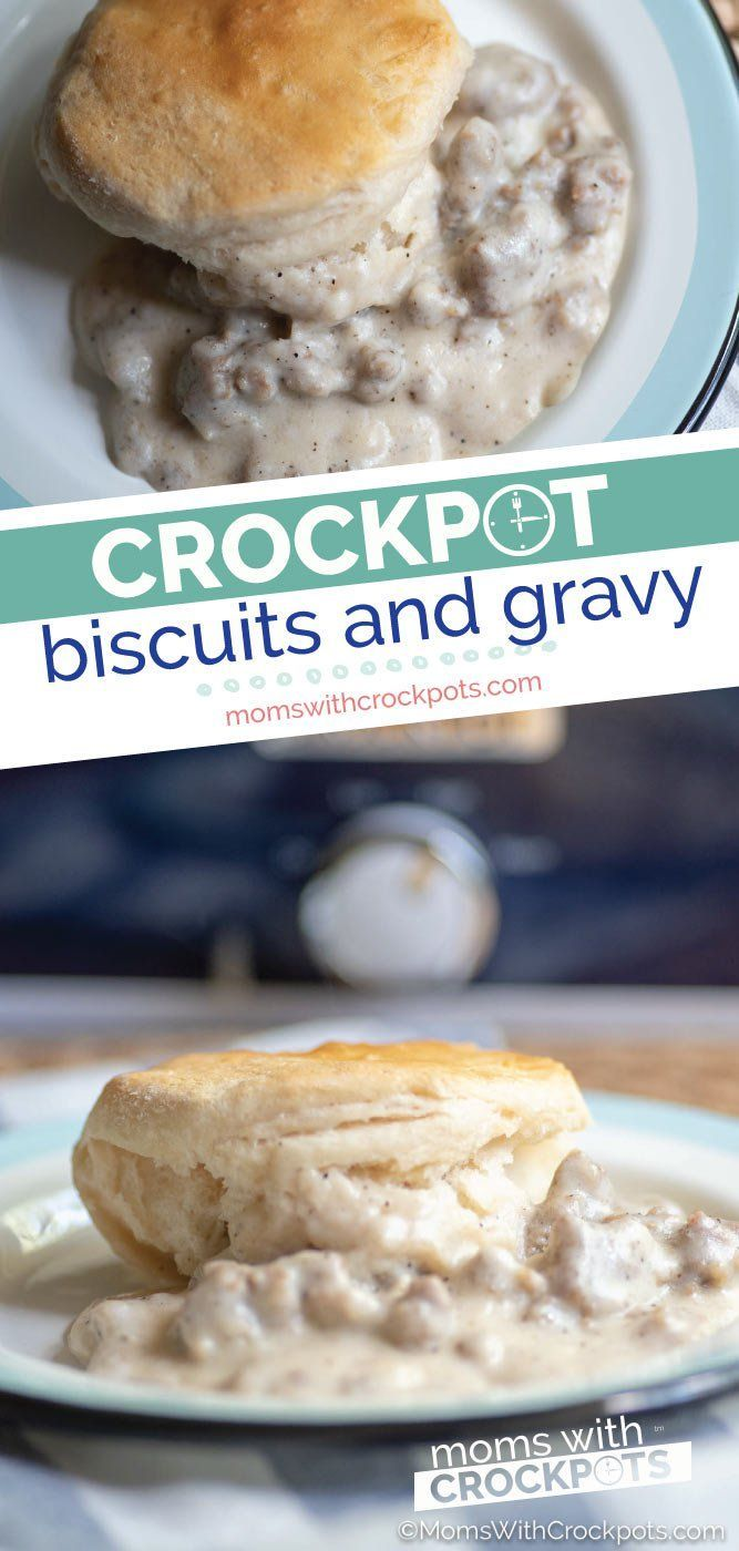 Photo of Crockpot biscuits and sauce recipe