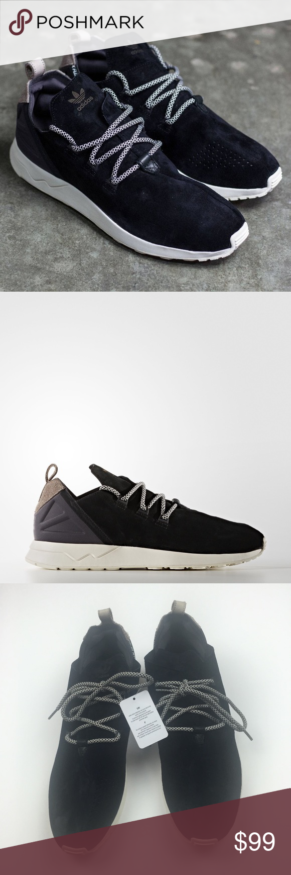 new style 5c2d1 6d878 New Men s Adidas ZX Flux ADV X BB1405 Sneakers Brand new with tags. Men s  size 13.5. Black suede. No trades.  112398  adidas Shoes Sneakers