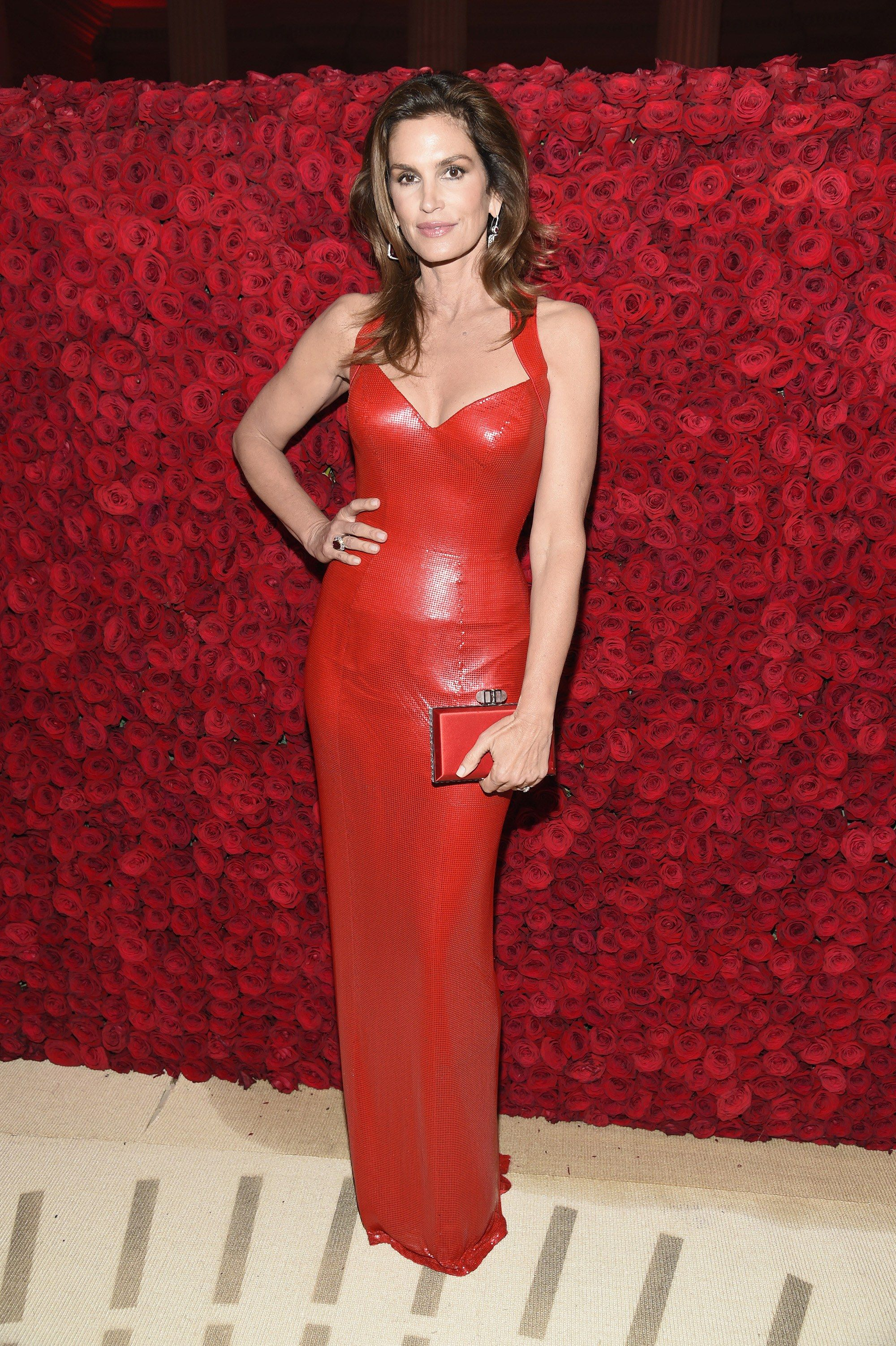 At 52, Cindy Crawford Looks as Good in Versace as She Did
