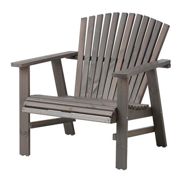 Chaise De Jardin Style Adirondack Version Ikea Met Afbeeldingen