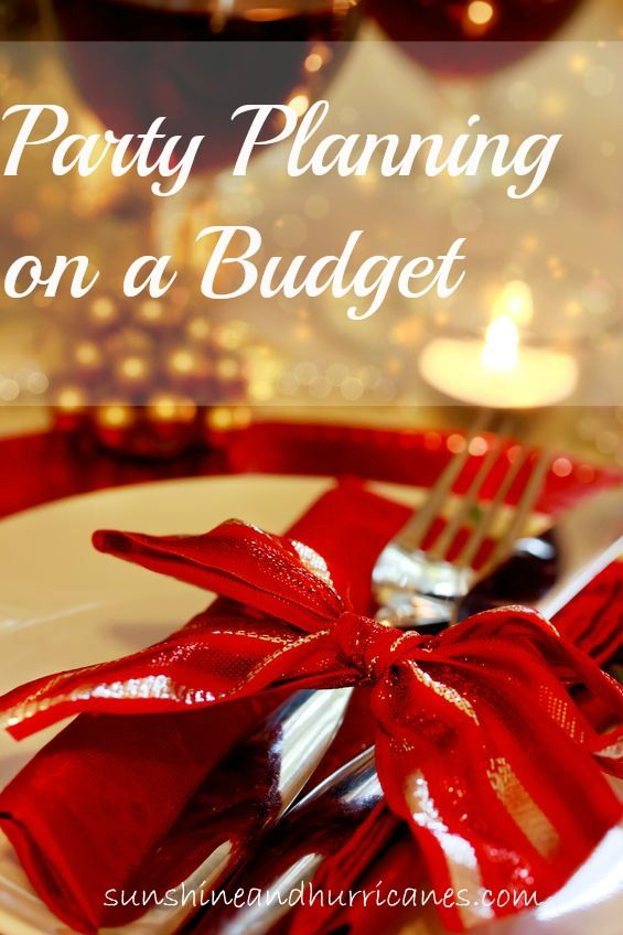 party planning on a budget sunshine hurricanes christmas partyplanning budget