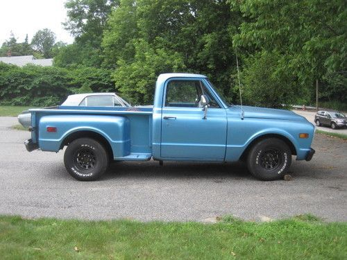 1969 Chevy C10 Stepside Short Bed Pick Up Us 6 000 00 Image 1