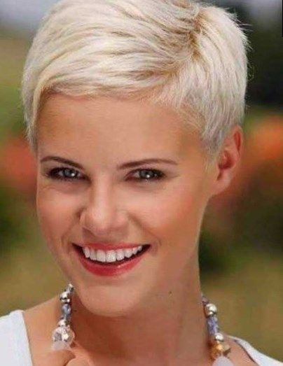 Kurzhaarfrisuren 28 damen blond | Pixie hair cuts