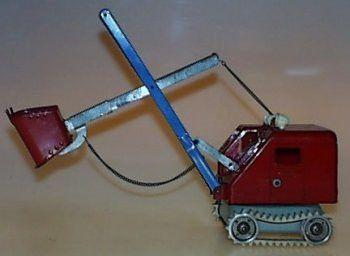 Vintage 60's Gama Autobagger Excavator Shovel Construction Digger