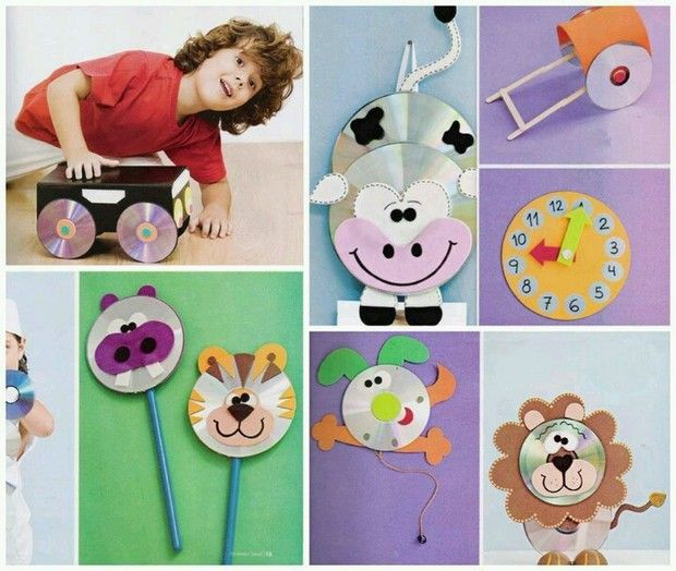 Exceptional Cd Craft Ideas For Kids Part - 5: Cd Craft Ideas For Kids,preschoolers,kindergarten,primary School Animals Cd  Craft Ideas Animals Puppet Cd Craft Ideas For Kids Clock Cd Craft Spring And