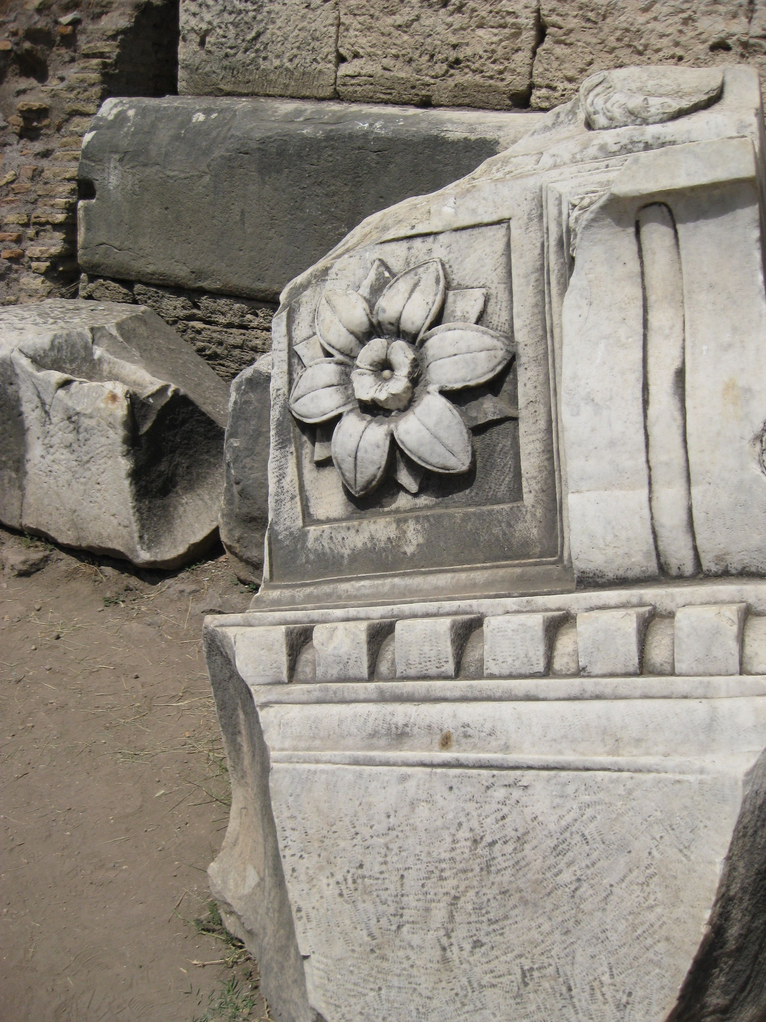 Stone Flower in the Forum.