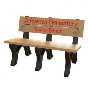 Recycled Plastic Park Benches For Sale Online Buddy Bench Bench Memorial Benches