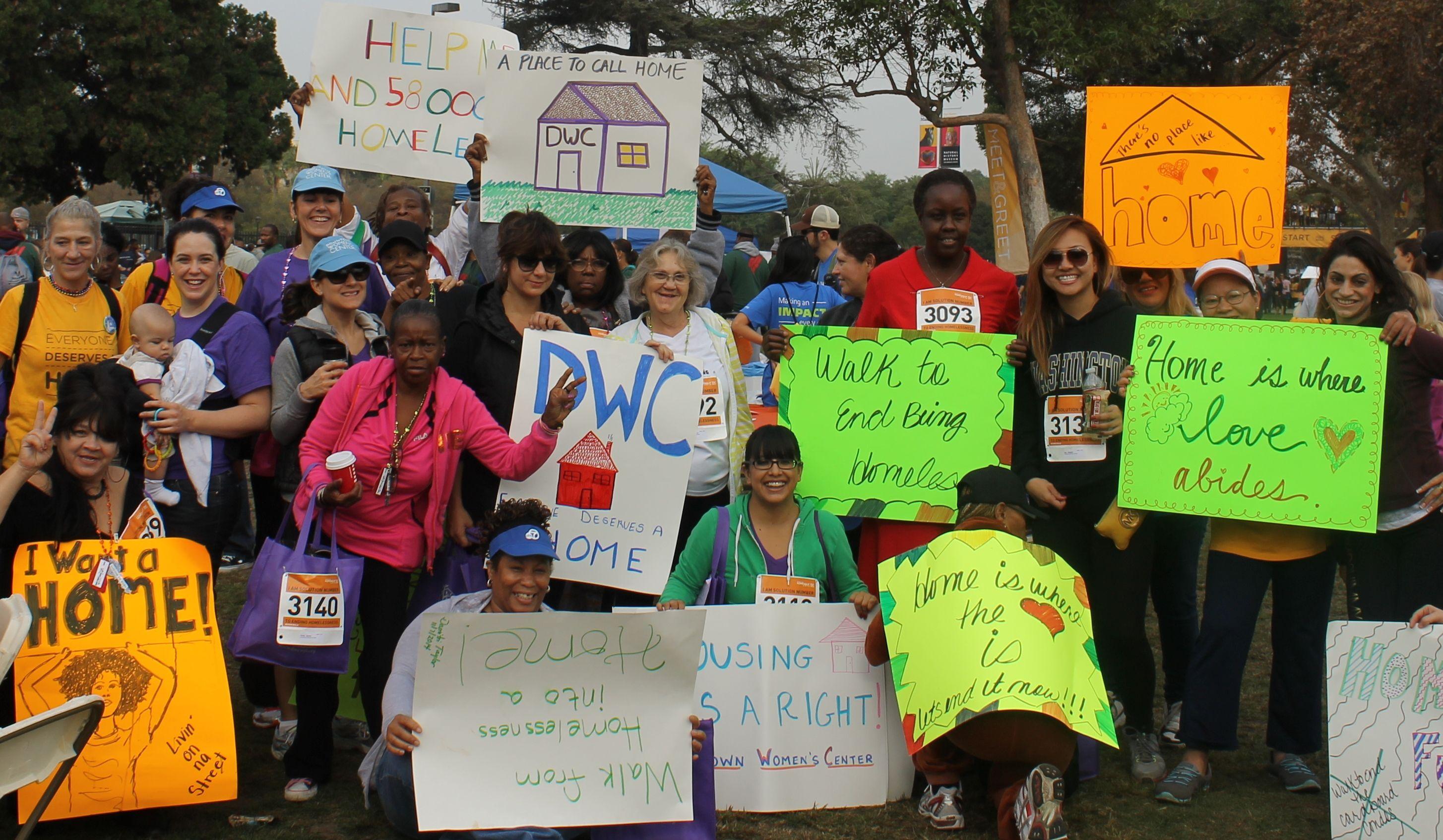 1. Downtown Womens Center 2. Homeless women 3. 442 S San