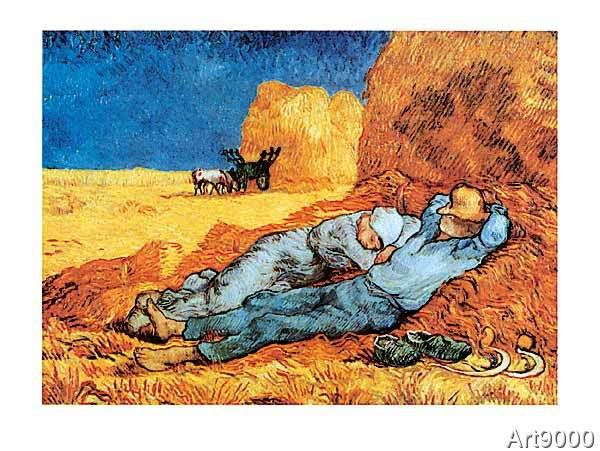Vincent van Gogh - Il Riposo Arte que amo Pinterest Van gogh