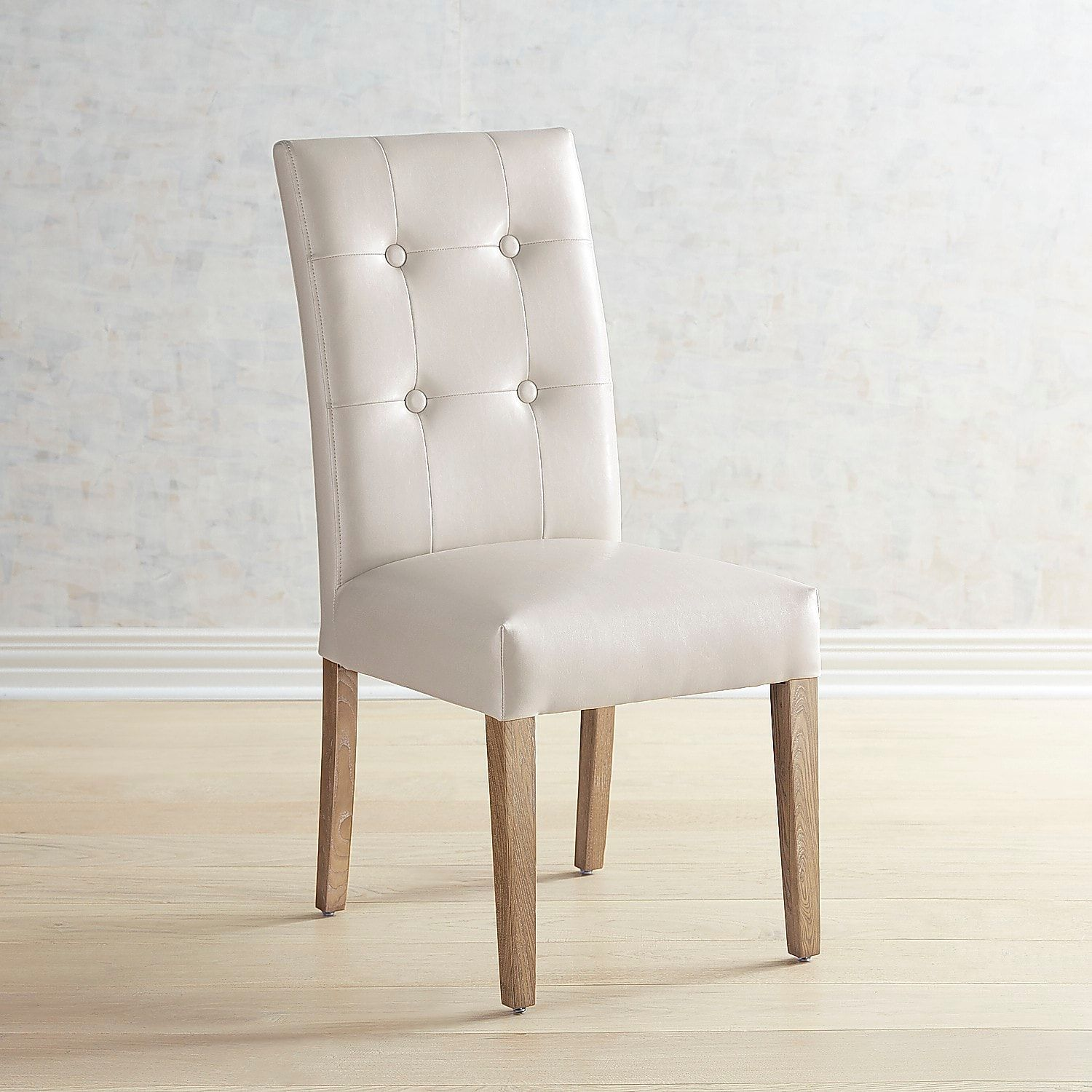 Mason Gray Dining Chair With Espresso Wood