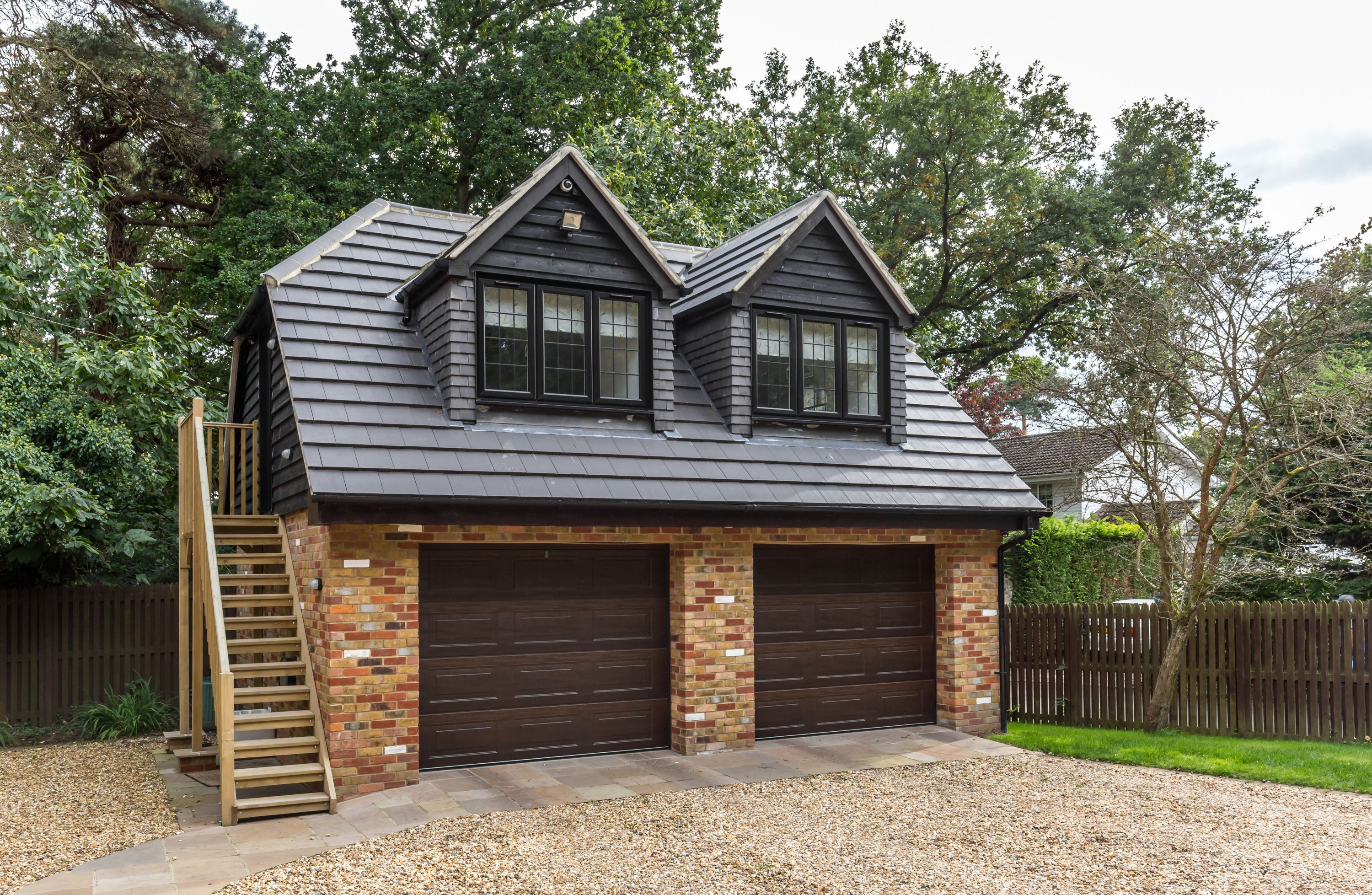 Best Traditional Double Garage With Room In Loft Space 640 x 480