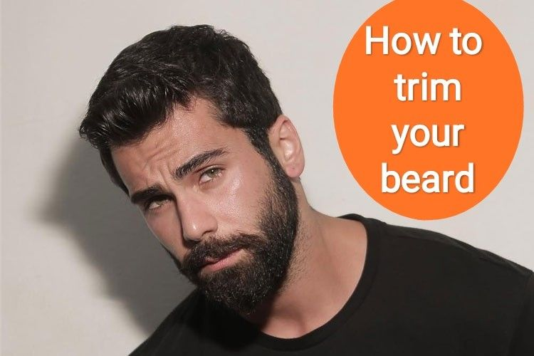 How To Trim Your Beard Trimming Your Beard Neck Beard Beard Trimming