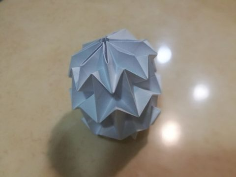 How to Fold an Origami (Magic) Ball - YouTube | 360x480