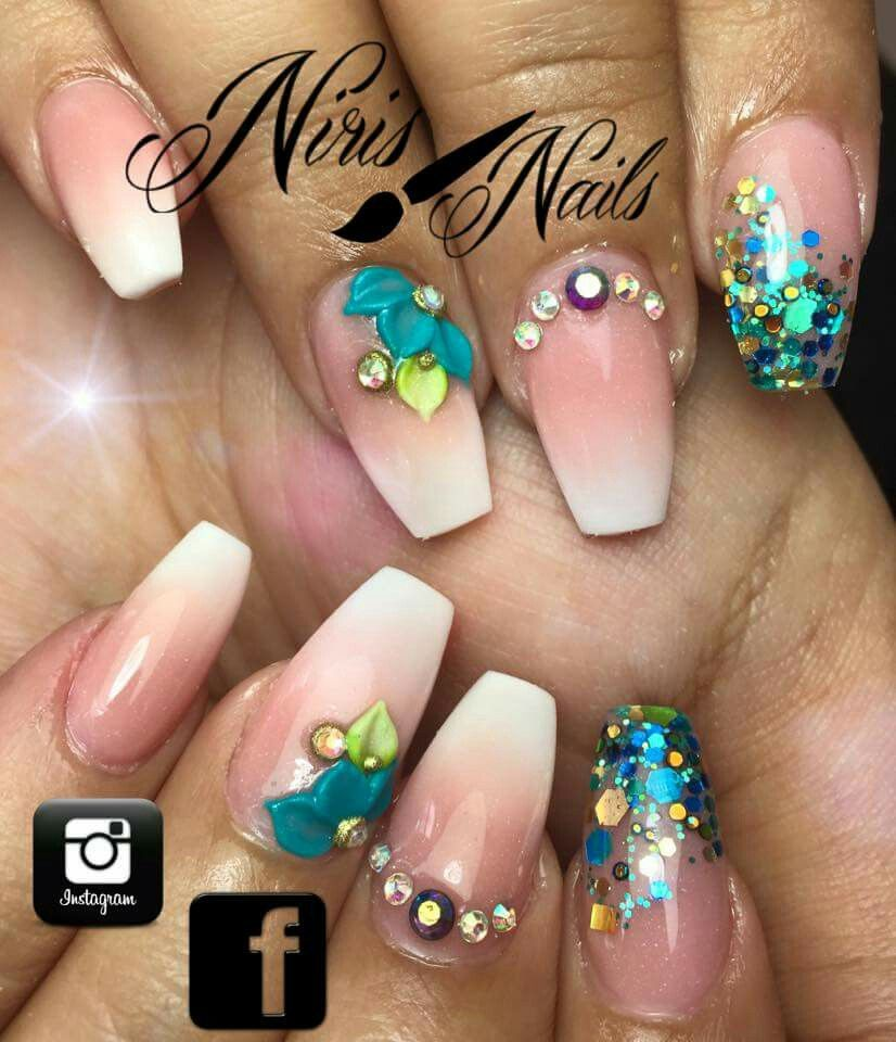 Pin by Dayana Perez on uñas | Pinterest | Coffin nails, Amazing ...