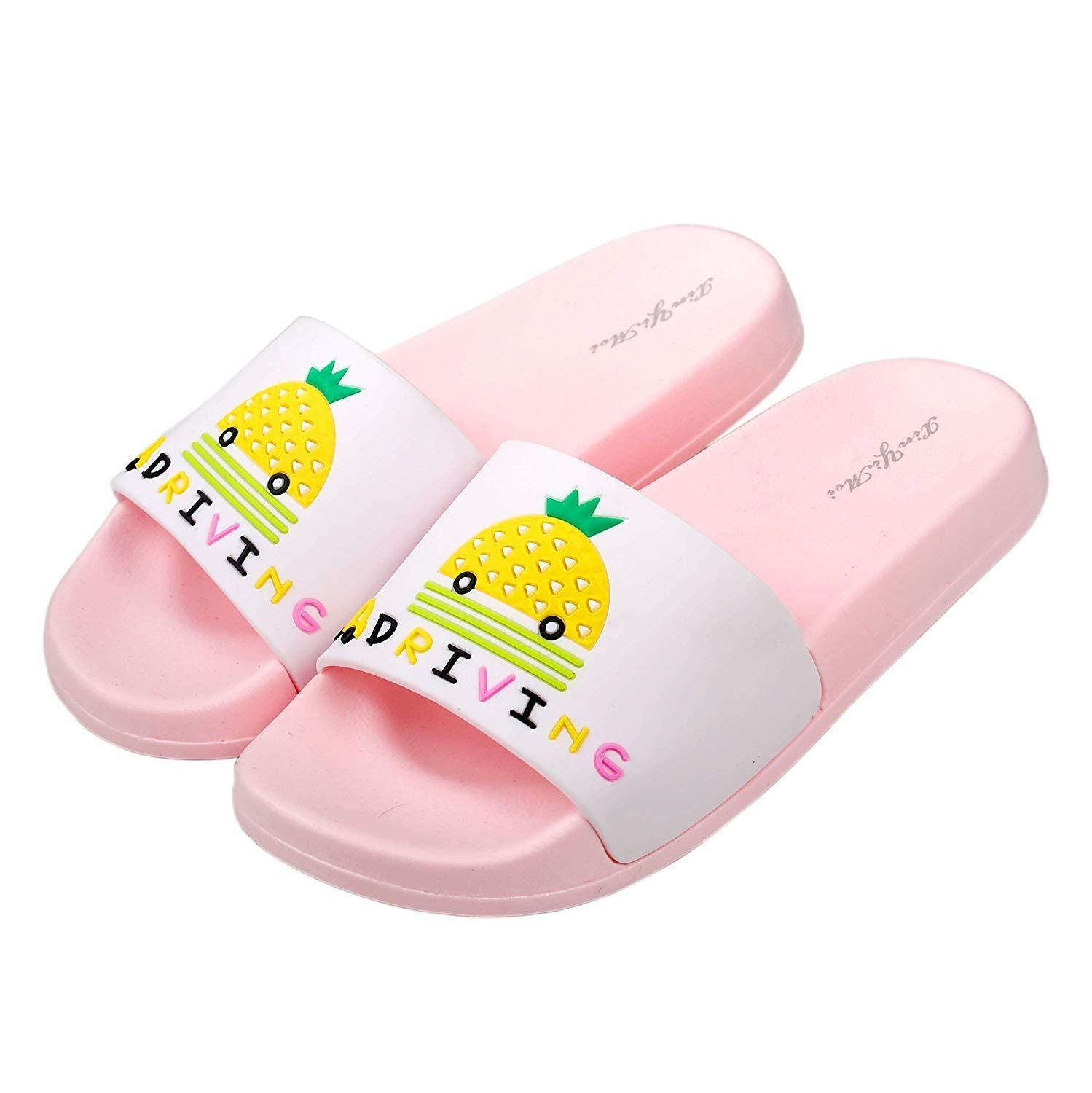 Anddyam Kids Household Sandals Anti-Slip Indoor Outdoor Home Slippers for Girls and Boys