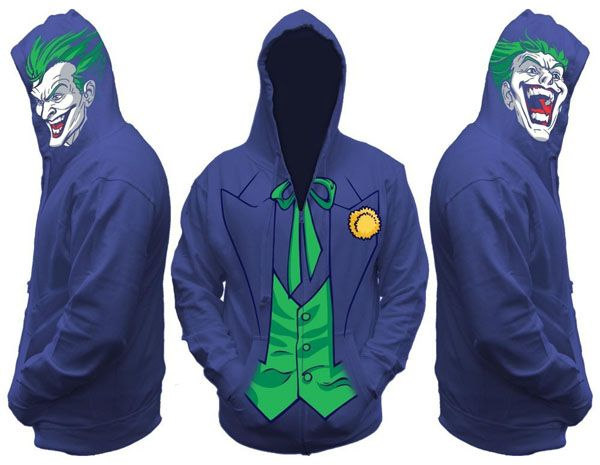 Joker Men's Zip Hooded Sweatshirt | Jokers, Superhero and Sweatshirts