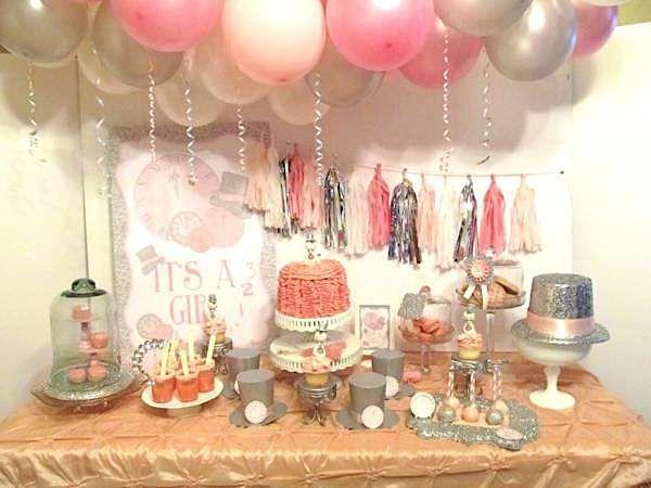 new years eve boy girl glittery glam baby shower planning ideas