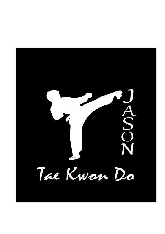 Car Window Decal Tae Kwon Do Decal Personalized By Allstickeredup 6 00 Taekwondo Car Window Decals Window Decals