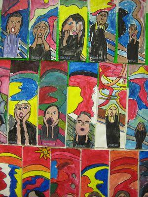 The Scream by Edvard Munch   Dalis Moustache   Scream art