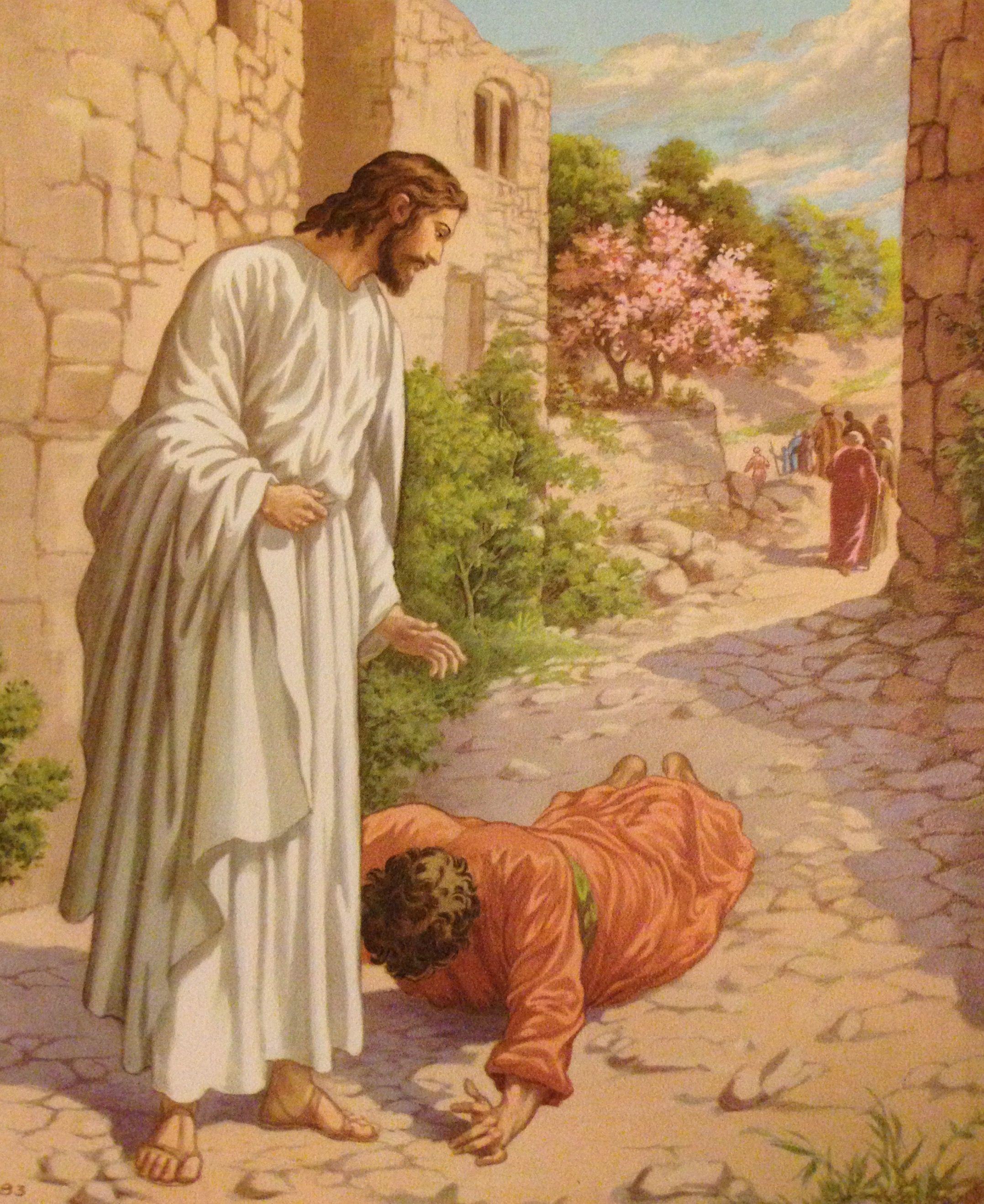 Only One Samaritan Returns To Thank Jesus When 10 Men Were