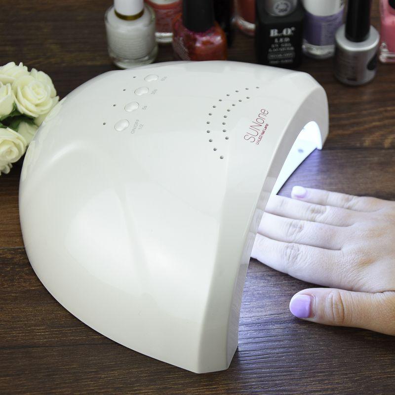 SUNUV1 Professional White Light 48W UV LED Lamp UV Nail Dryer 365+ ...