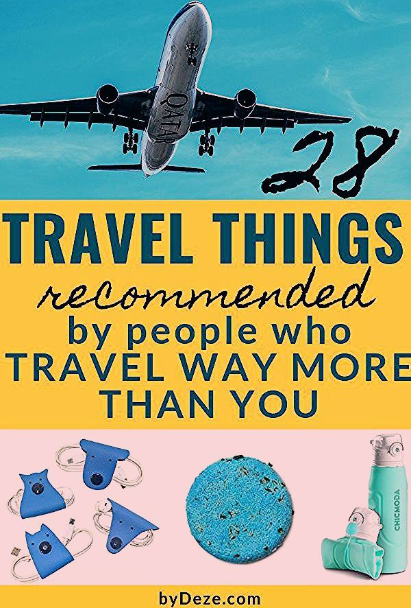 Photo of Tips From Above-Average Travelers: 28 MUST HAVE Travel Items   byDeze