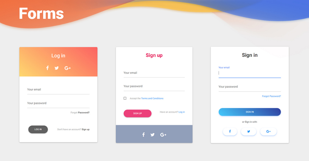 Bootstrap Forms examples & tutorial. Basic & advanced