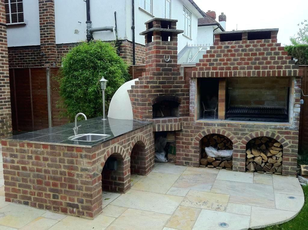 Outdoor Fireplace Pizza Oven Combo Home Romantic Kits With Combination Ho Outdoor Fireplace Pizza Oven Outdoor
