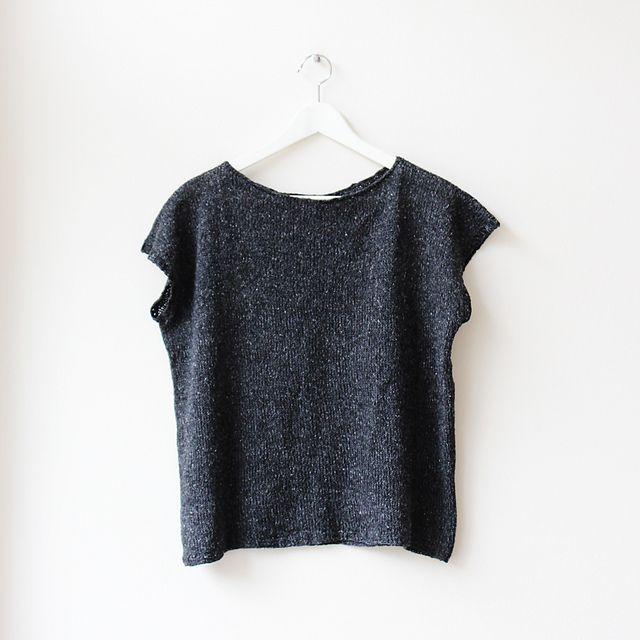 Ravelry: BEPPU Top pattern by Tanja Lay (free download) | knitting ...