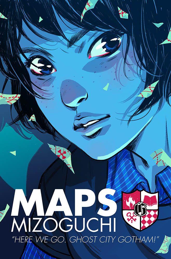 Maps Mizoguchi by Becky Cloonan