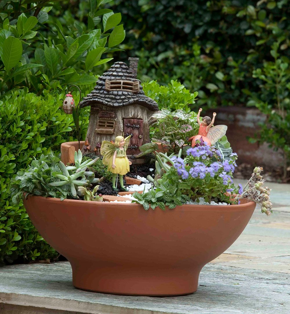 How To Make A Layered Fairy Garden Better Homes