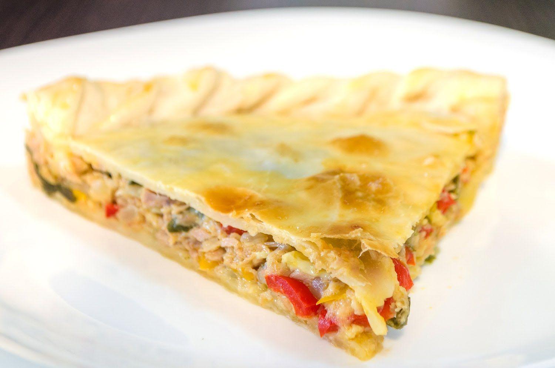 Tarta De Atún Receta De Tarta Estilo Empanada Gallega Recetas De Comida Masa Para Tartas Dulces Recetas Fáciles De Comida