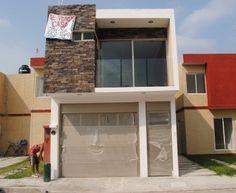 Infonavit las vegas ii casa nueva amplia y acabados de for Acabados fachadas minimalistas