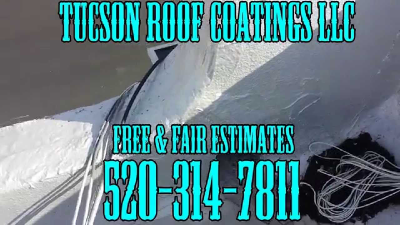 You Are In Need Of A Roof Coating... Roof Coating Tucson