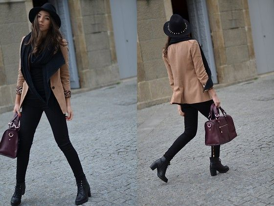 Spikes on my hat (by Carla Estévez) http://lookbook.nu/look/4396871-Spikes-on-my-hat