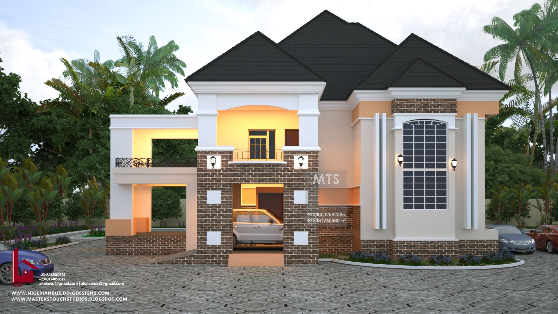 4 Bedroom Trending Duplex Rf D4009 Architect Design House Duplex House Design Luxury House Designs