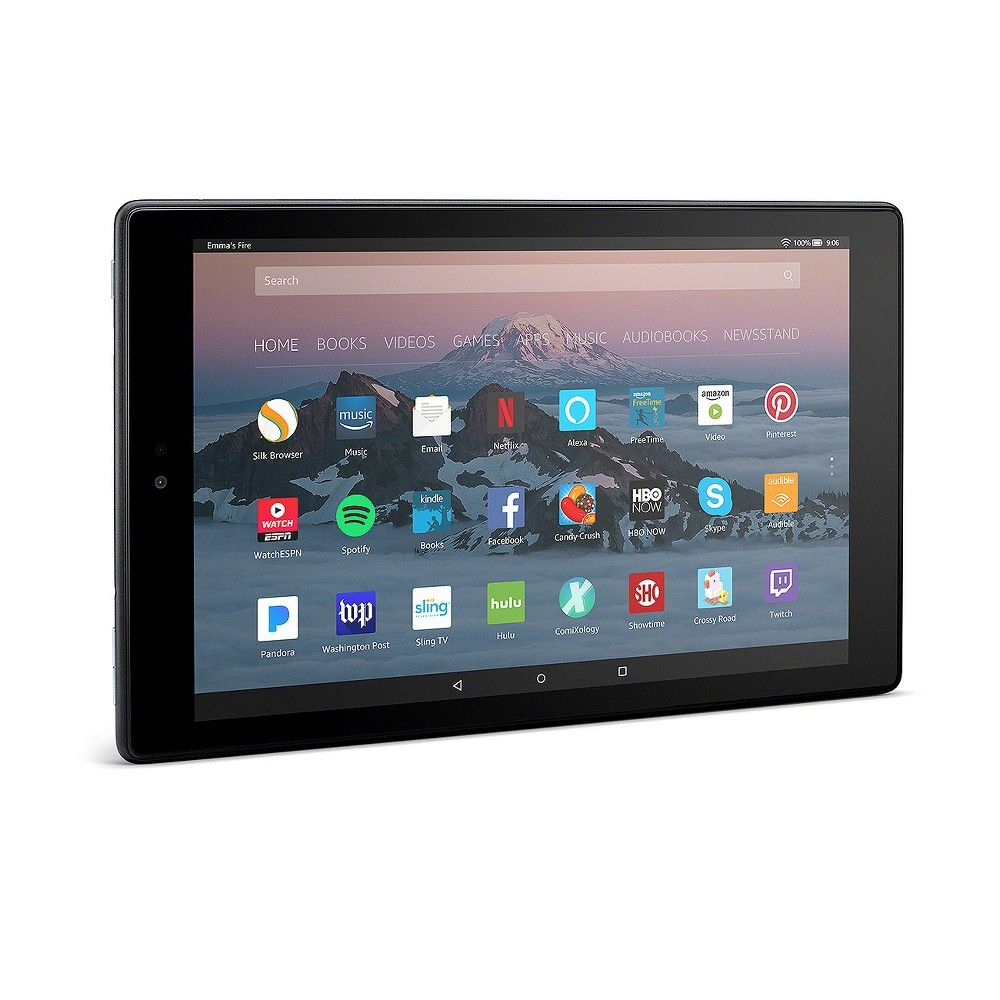 Amazon Fire Hd 10 Tablet With Alexa Hands Free 10 1 1080p Full Hd Display 7th Generation 2017 Release Black 32gb With Special Offers Fire Hd 10 Tablet Kindle Fire Hd