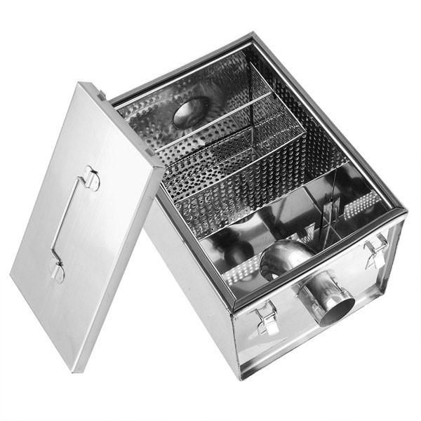 This 8 Lbs Under Sink Grease Trap Is Fit For Many Single