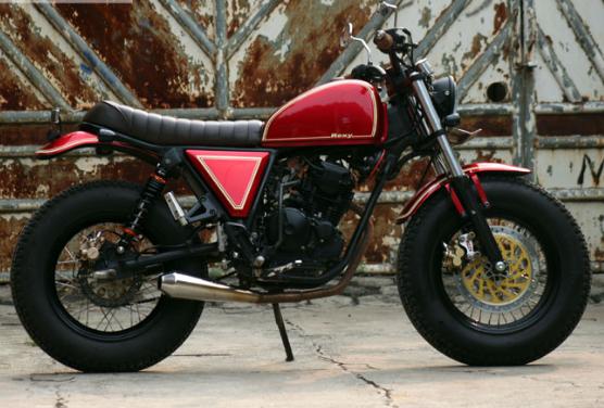 Modifikasi Motor Japstyle Scorpio
