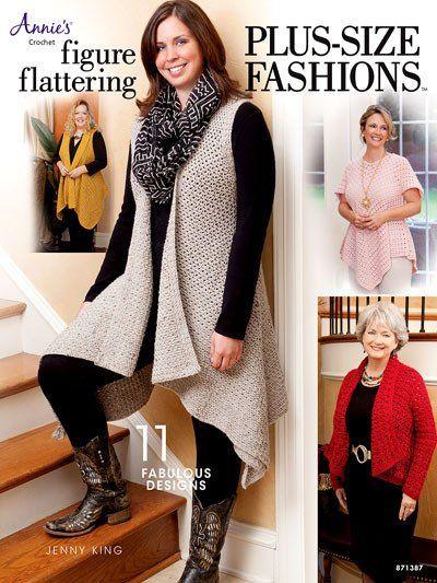 Figure Flattering Plus-Size Fashions – Maggie's Crochet