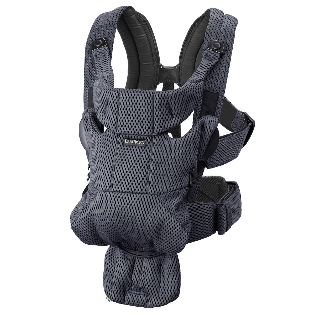 Baby Carrier Free 3d Mesh Anthracite In 2020 Baby Bjorn New Baby Products Baby Wearing