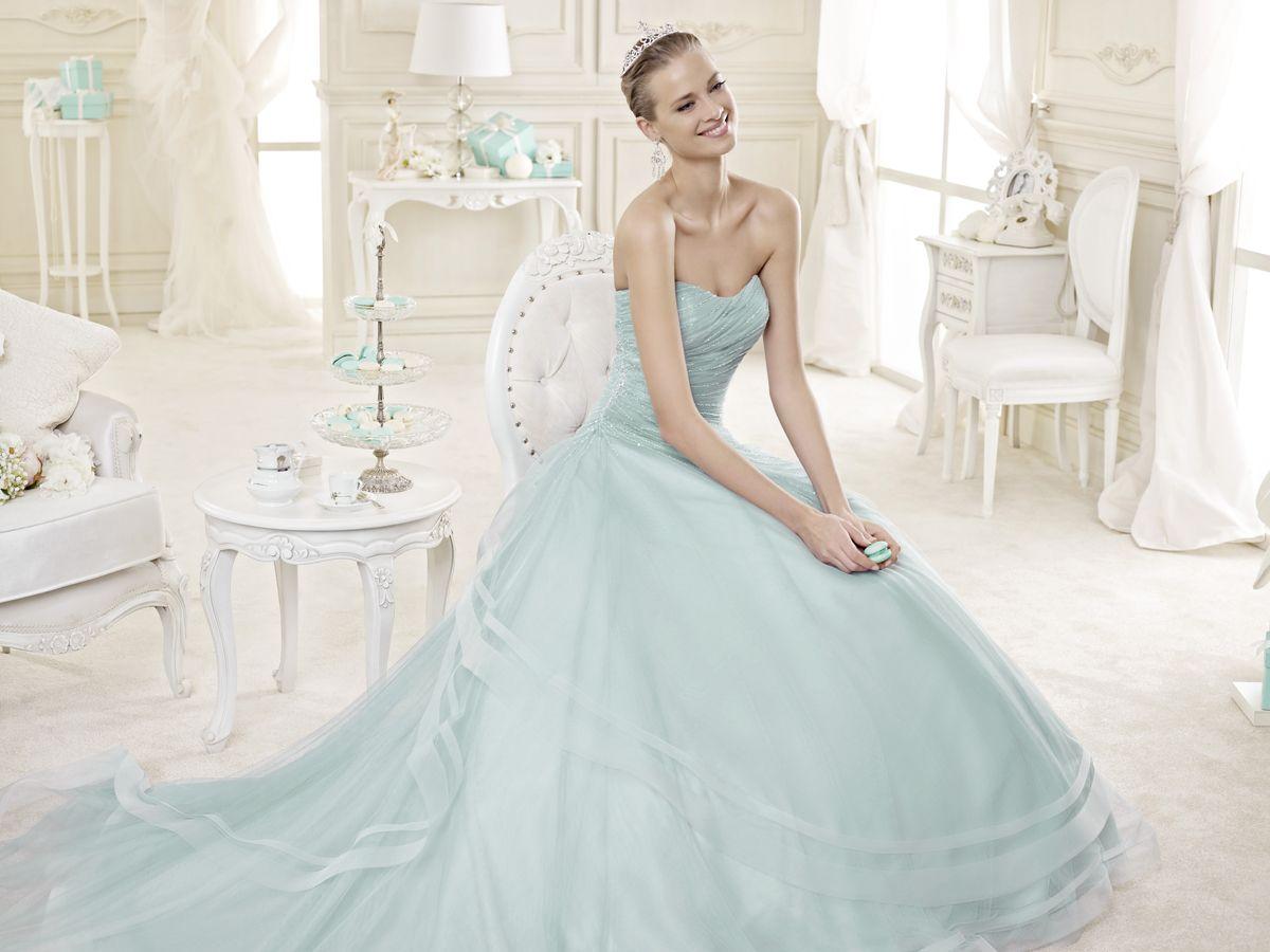 Vestido de novia | Vestidos de novias de colores | Pinterest ...