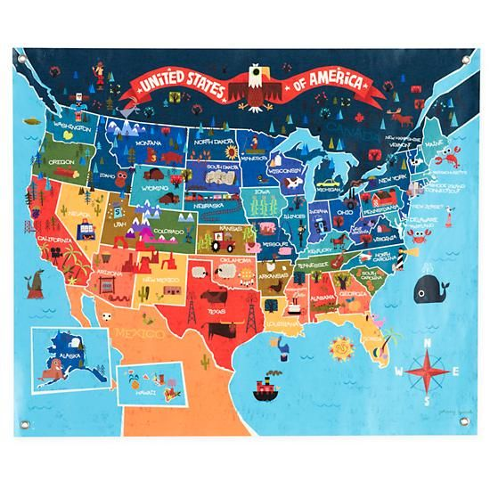The land of nod america the beautiful banner map love the land of nod america the beautiful banner gumiabroncs Image collections