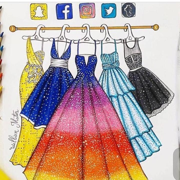 Картинка для лд платья