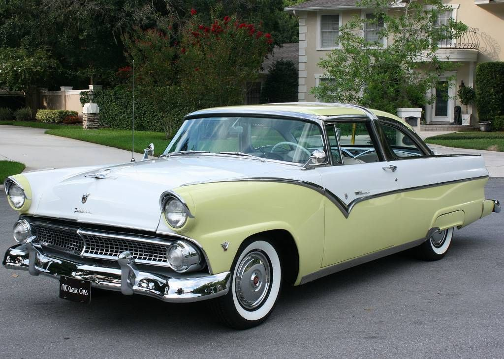 1955 Ford Crown Victoria Coupe For Sale 1854502 Hemmings Motor News Cars I Like
