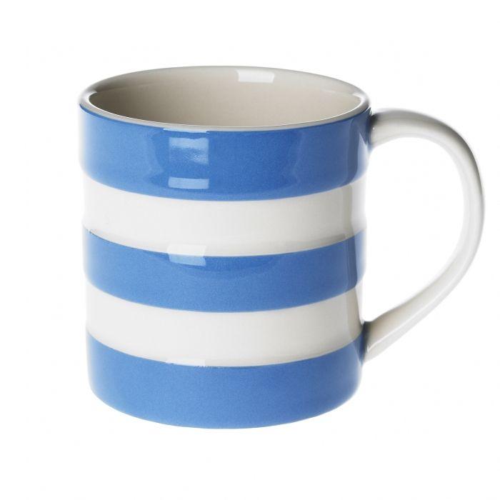 Cornish 6oz 18cl Mug Cornishware Classic British Kitchenware By T G Green Cornishware Mugs Green Mugs