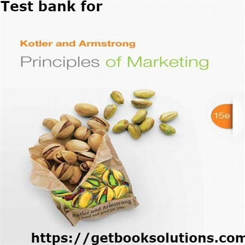 Test bank for principles of marketing 15th edition by philip test bank for principles of marketing 15th edition by philip kotler fandeluxe Image collections