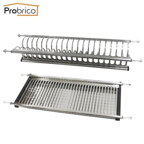 Details About Probrico Stainless Steel 2 Tier Dish Drying Racks