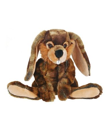 This Whimsy Bunny Plush Toy By Hansa Toys Is Perfect Zulilyfinds Bunny Plush Toys Plush Toy